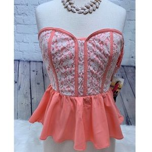 Corset Bustier Top Do & Be NEW